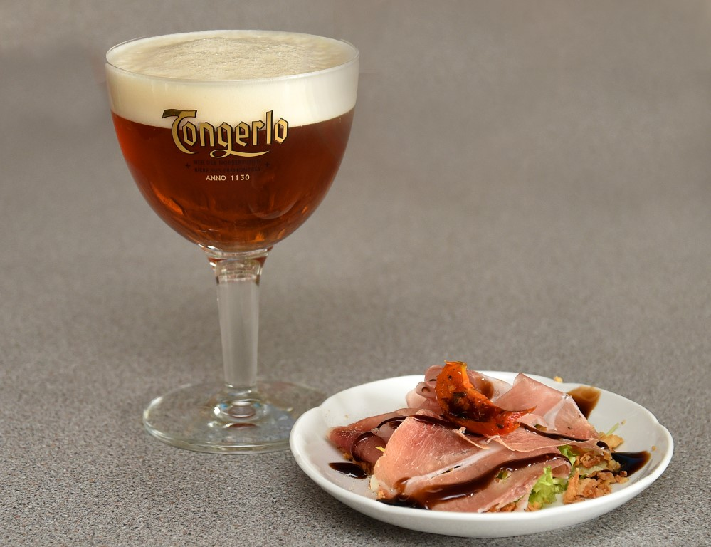 Tongerlo Blond met Bierhapje